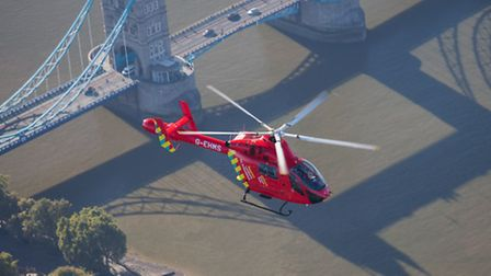 London's Air Ambulance has acquired a second helicopter Photo: John Le Ray