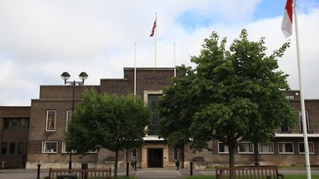 Havering Town Hall.