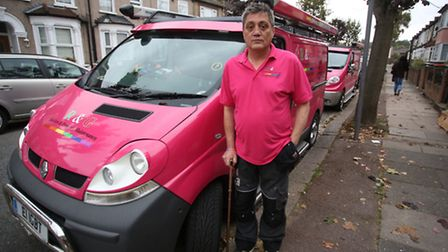 Ray had a disabled badge in his van but was still given a ticket, once the warden was told about thi