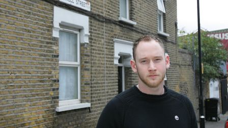 Jacob Riggs, who helped a young man after he was stabbed multiple times in Sewell Street, Plaistow,