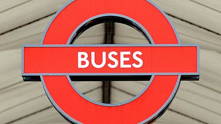 A bus sign. Picture: PA/Nick Ansell