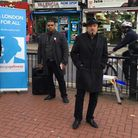 George Galloway in Upton Park