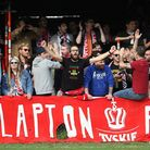 Clapton fans show their support (pic; George Phillipou/TGSPHOTO)