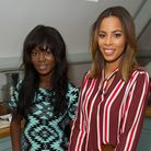 Baker Renezoe Frimpong-Manso with Rochelle Humes