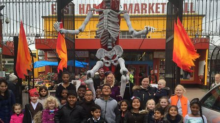 The Trick or Treat Hunt at East Ham Market Hall
