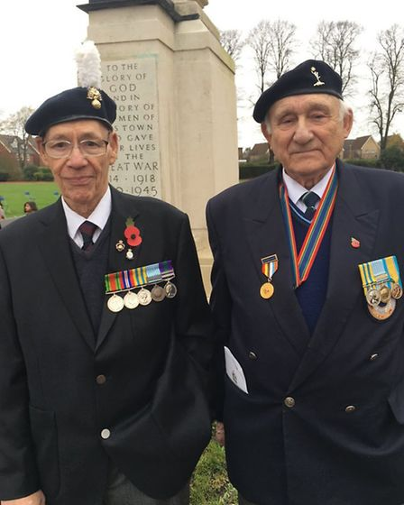 Eddie Thorogood, 89, from Wanstead and Ron Batchelor, 83, from Barkingside