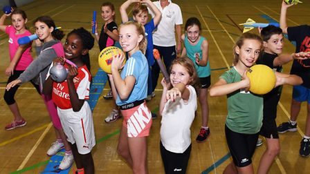 Children in Year 5, Year 6 and Year 7 had a shot at athletics at Campion School in Hornchurch during