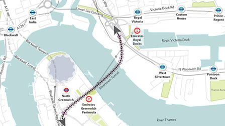 Detailed plans for the proposed Silvertown Tunnel have been released (image: TfL)
