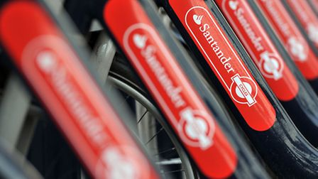 Santander Cycles docking stations will be coming to Queen Elizabeth Olympic Park (Picture: PA)