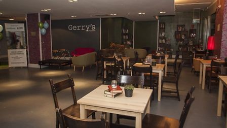 The interior of Gerry's