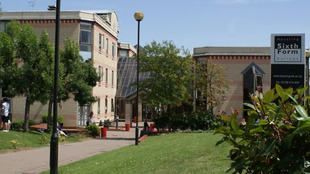 Police were called to Havering Sixth Form College at 12.30pm