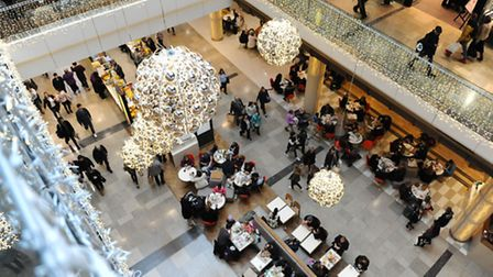 Westfield Stratford City will be open until a minute before midnight on Black Friday