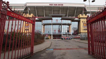 A West Ham fan was stabbed on Sunday