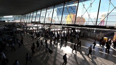 Stratford Station, which is now in Zone 2/3 Photo: Stephen Pond/PA Images