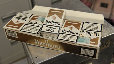 Counterfeit cigarettes seized by Havering's Trading Standards enforcement team this year