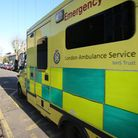 One person was treated for minor injuries after the crash between a bus and a car outside Upton Park