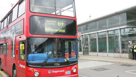The Route 69 between Walthamstow and Canning Town was the first to trial the greener diesel. Picture