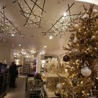 Christmas decoration at John Lewis in Westfield Stratford City