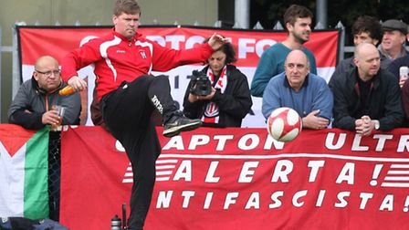 Clapton manager Michael Walther (pic: George Phillipou/TGSPHOTO)