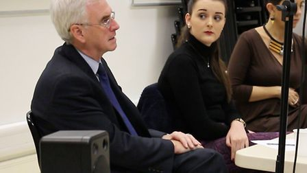 John McDonnell speaks at Havering Sixth Form College