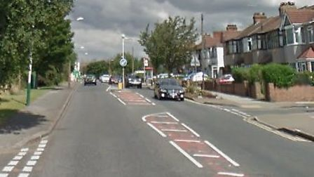 Emergency services were called to Upper Rainham Road at about 1am. Picture: Google Maps