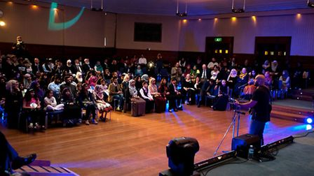 Last year's Young Muslim Writers Awards ceremony. Picture: Young Muslim Writers Awards