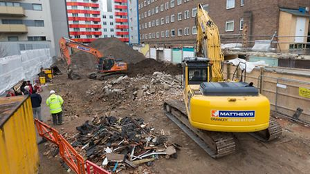 A �1million VAT bill has threatened the construction of the flats in Canning Town