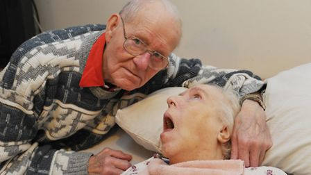 Reg Wright was told by Ryedale Care Home his wife Lilian has to find another home before Christmas