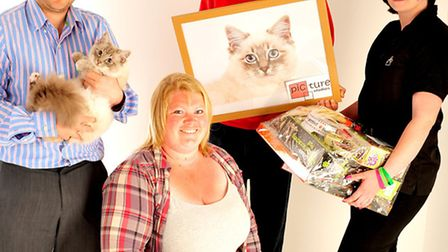 WINNIERS: The Journal's 2013 Pets on Parade champions - Freddie the top cat and Tyler the top dog -