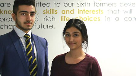 Reiss Akhtar and Nuzhaat Ghani have received Oxbridge offers