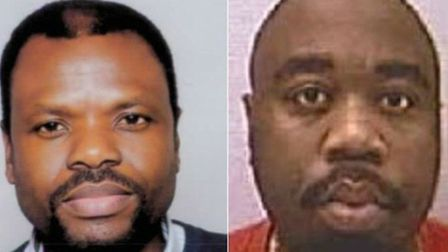 Juma, left and Ali, right were jailed for 30 months