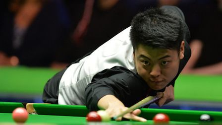Liang Wenbo is competing at The Masters (pic: Anna Gowthorpe/PA)