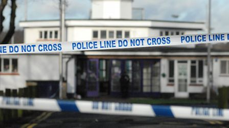 Police cordoned off Ashton Playing Fields after the stabbing