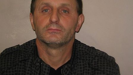 Giorge Zhukas, 47, of no fixed abode has been jailed for 18 months and placed on the sex offenders r
