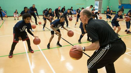 The training session brought young people from five different schools together (picture: C1 Photogra