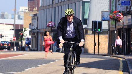 Boris Johnson wants to see transport improved in Newham