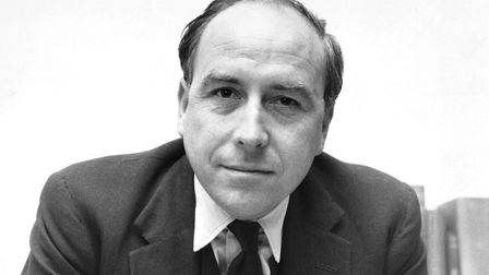 The Welsh Labour politician Roy Jenkins at his desk. Photo: Getty Images)