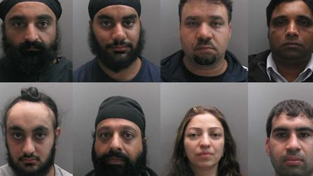Eleven people were sentenced to a total of 30 years in prison following a British Transport Police i