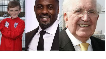 Jonjo Heuerman, Idris Elba and Jack Petchey have all been recognised in the New Year's Honours