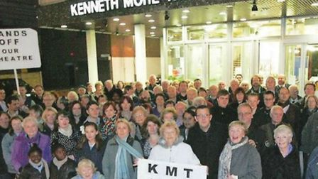 Kenneth More Theatre protesters hoping to save the theatre back in 2011