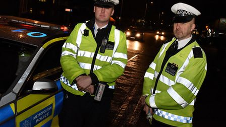 Havering police out and about dealing with drink drive offenders in the run up to Christmas