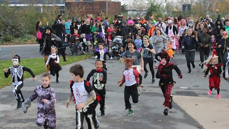 activeNewham, who organised this fun run, were nominated for an award