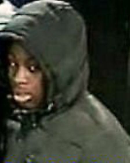 Police are trying to locate three men who tried to rob a Mcdonalds