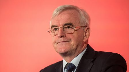 Shadow Chancellor John McDonnell . Photo by Chris J Ratcliffe/Getty Images