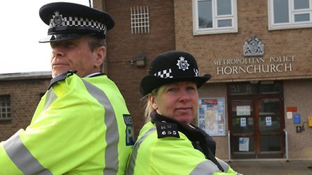Sgt Ken McNish and Ward Officer Belinda Goodwin are ploting a scheme called Streetwatch. They are th