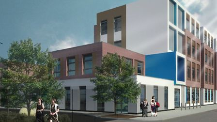 Artist impression of the Concordia Academy on Union Road, Romford, which REAch2 hopes to open by Sep