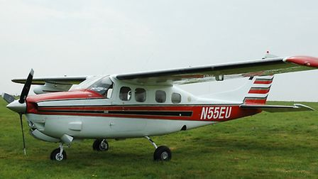 One of the Cessna light aircraft used to import drugs