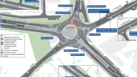 Transport for London's plans to improve safety at Gallows Corner