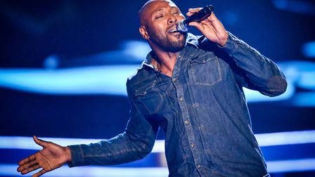 J Sealy performing on The Voice (picture:Guy Levy/Wall to Wall)