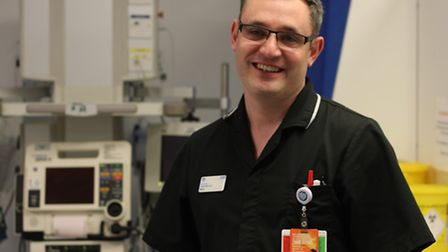 Jack Stevens, matron at the A&E department, tells the Recorder binge drinkers can drain the emergenc